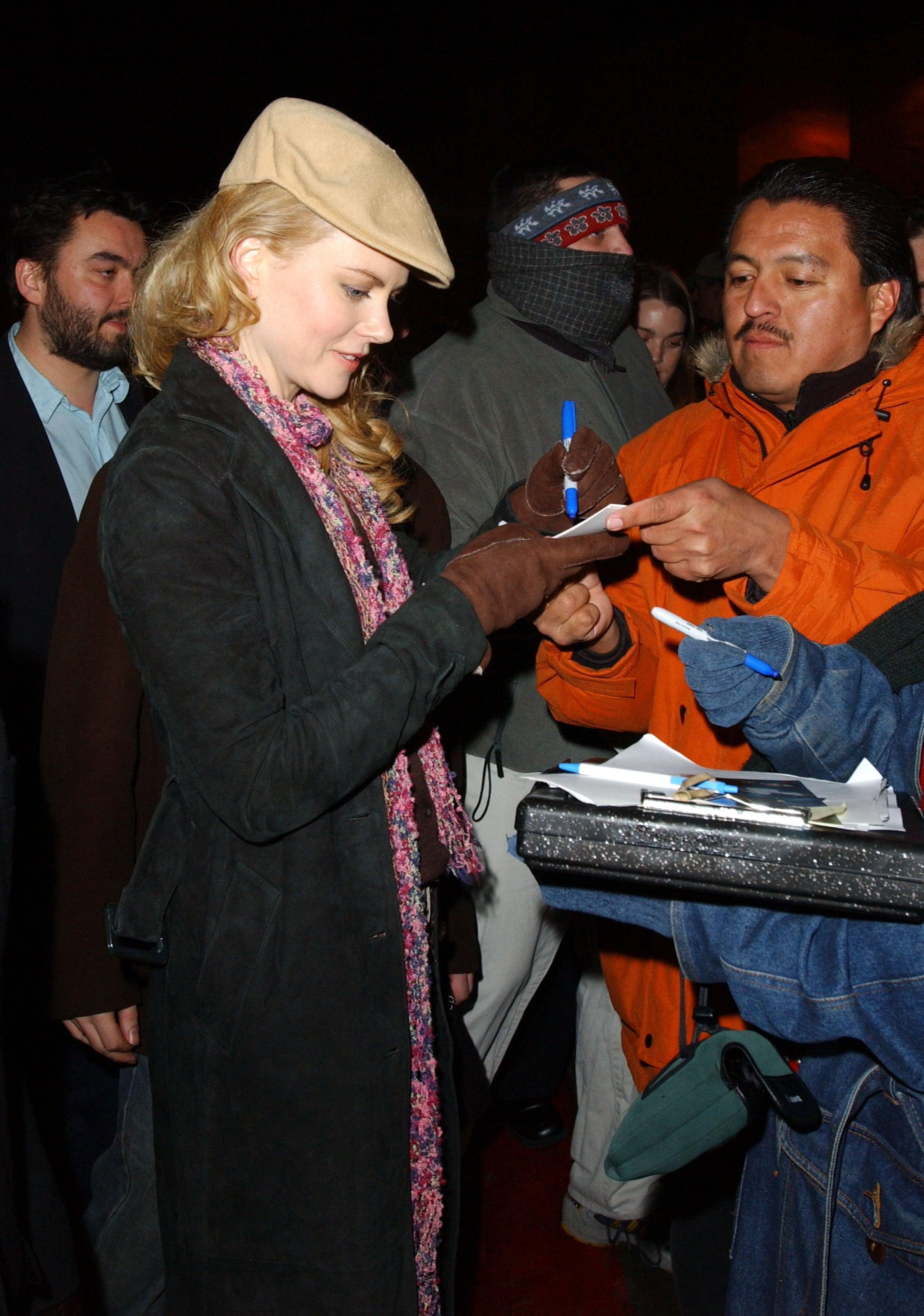 Singing Autographs at Sundance