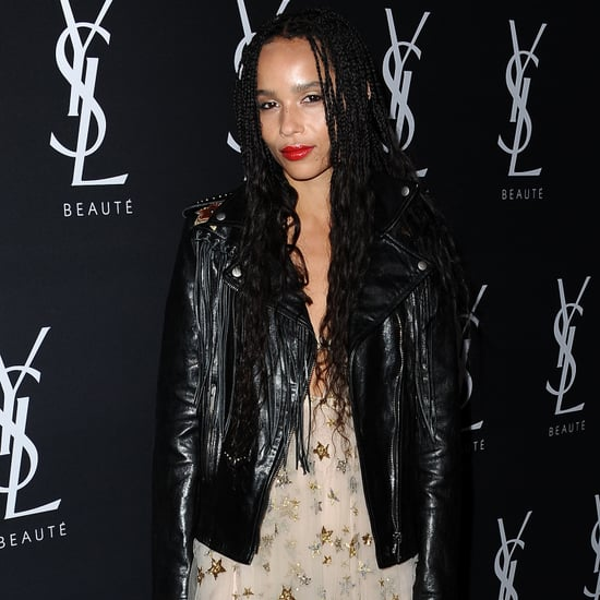 Is Zoe Kravitz Releasing a YSL Vinyl Cream Collection?