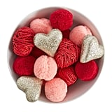 Pom-Pom and Heart Bowl Fillers