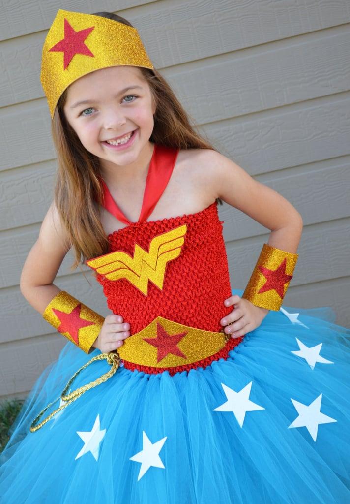 Wonder Woman Tutu Dress and Accessories
