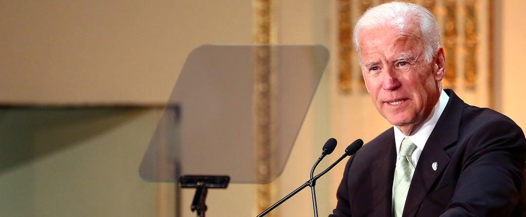 "Joe Biden Believes the 2016 Presidential Election ""Stoked Our Darkest Emotions"""