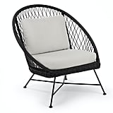 Article Aeri Lily White Lounge Chair