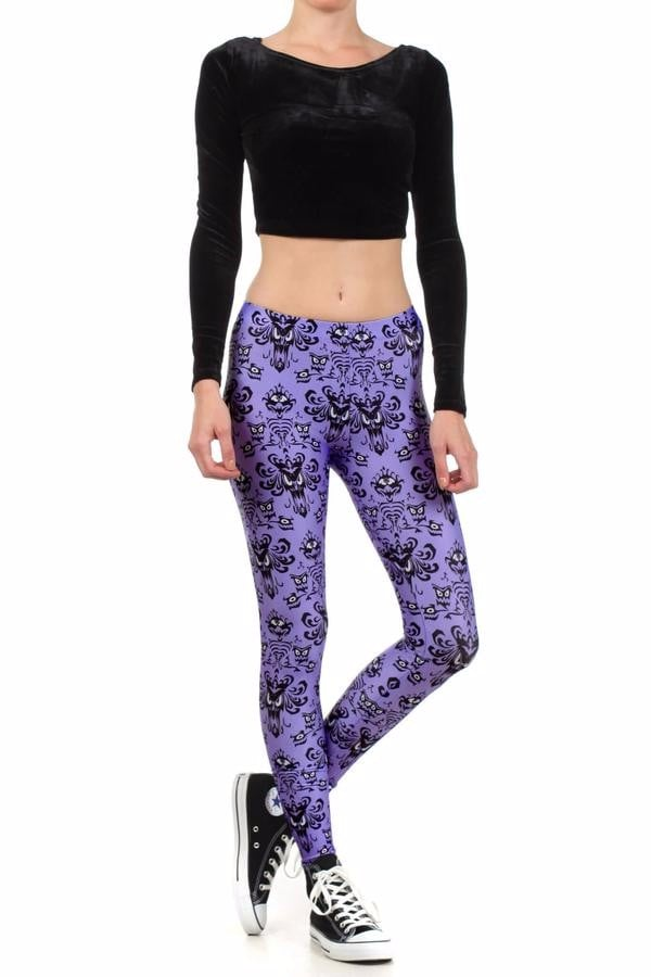 haunted mansion workout clothes