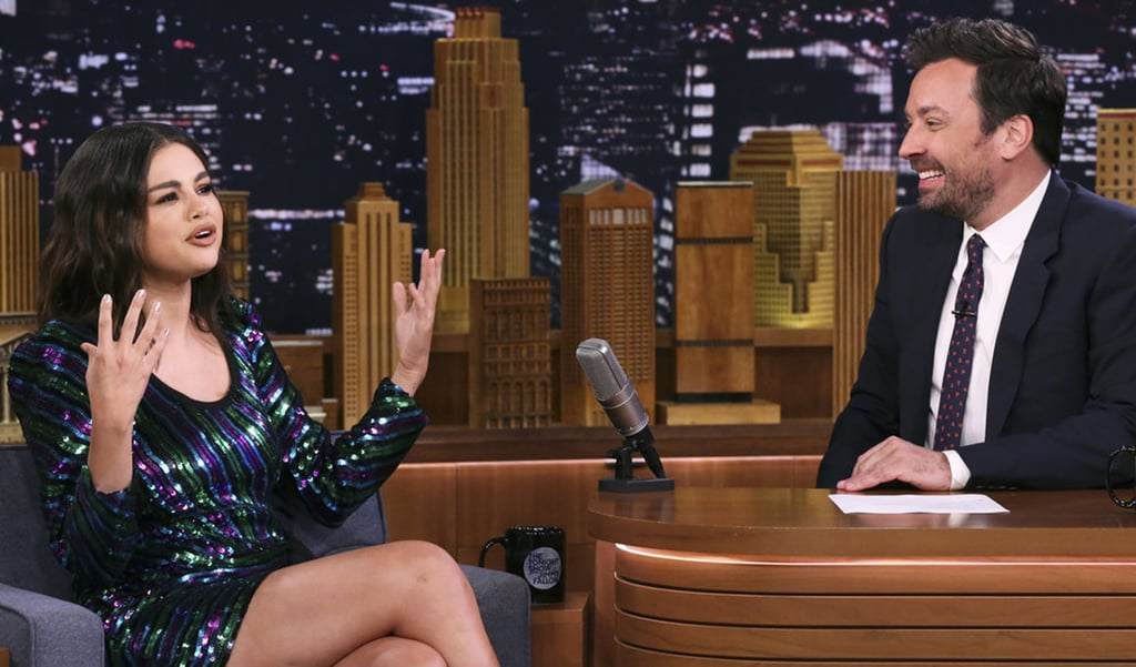Selena Gomez's Dress on The Tonight Show June 2019