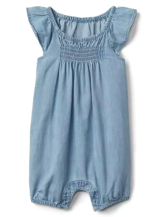 Baby Gap Chambray One-Piece