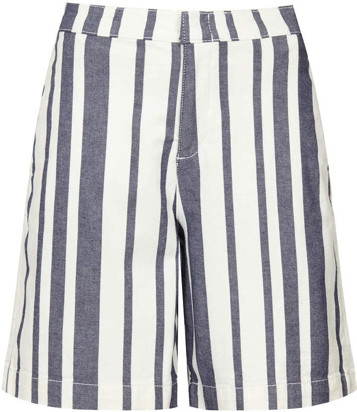 Topshop Striped Culottes