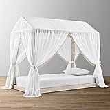 House Targaryen: Cole House Platform Bed and Tassel Voile Canopy