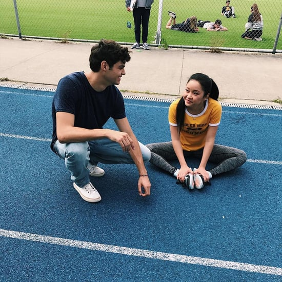 Noah Centineo and Lana Condor Working Out Together
