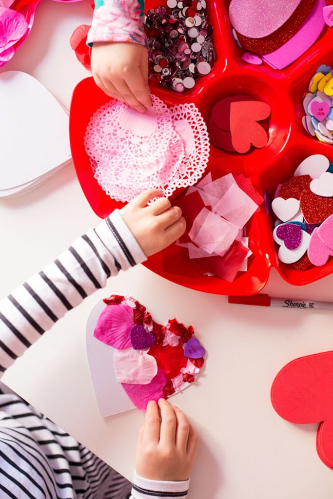 Quick Valentine's Day Cards to Make With Kids