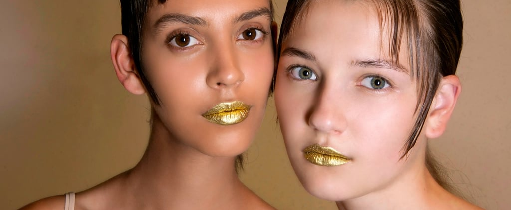 How to Rock the Metallic Lipstick Trend Without Looking Like the Terminator