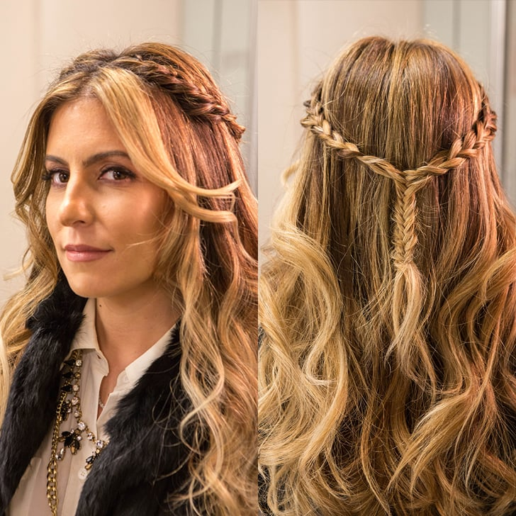 Braided Half-Up Hairstyle | POPSUGAR Beauty