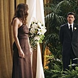 Meredith is given the unfortunate duty of announcing to the church that the Yang-Burke wedding is no more.