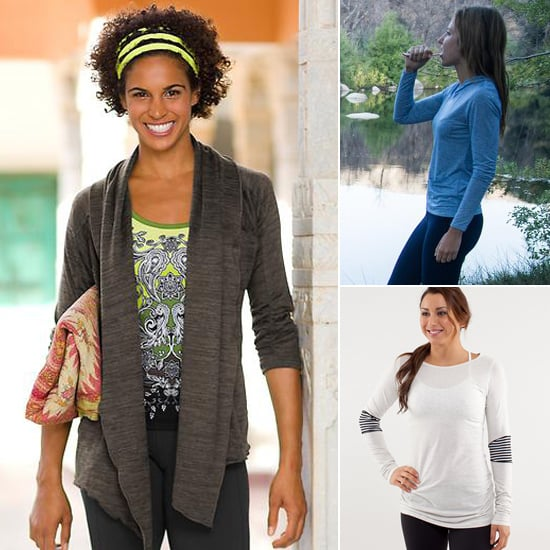 Long-Sleeved Yoga Tops