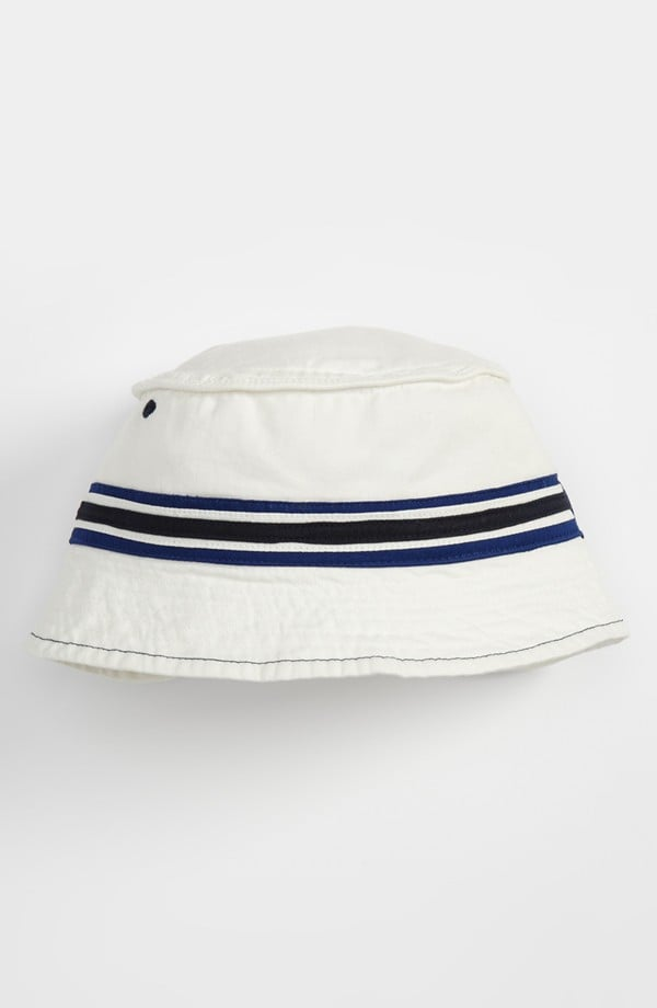 Nolan Glove's classic striped bucket hat ($12) wears well with just about anything!