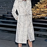 Anna Wintour looked glam at the Vanity Fair bash.