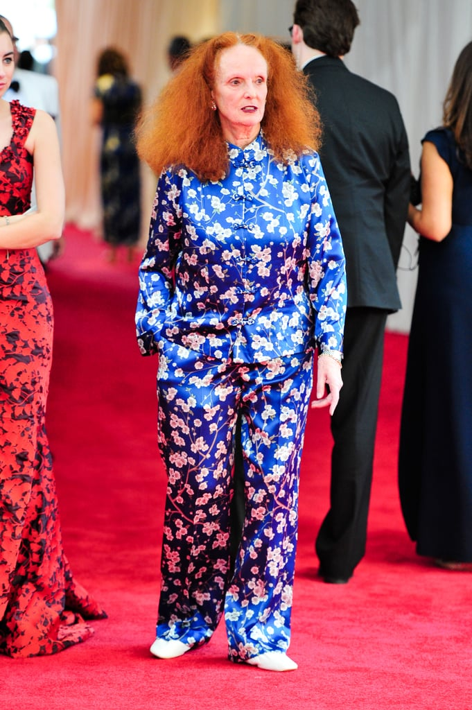 She Channelled Last Year's Met Gala Theme in a Pair of Pyjamas