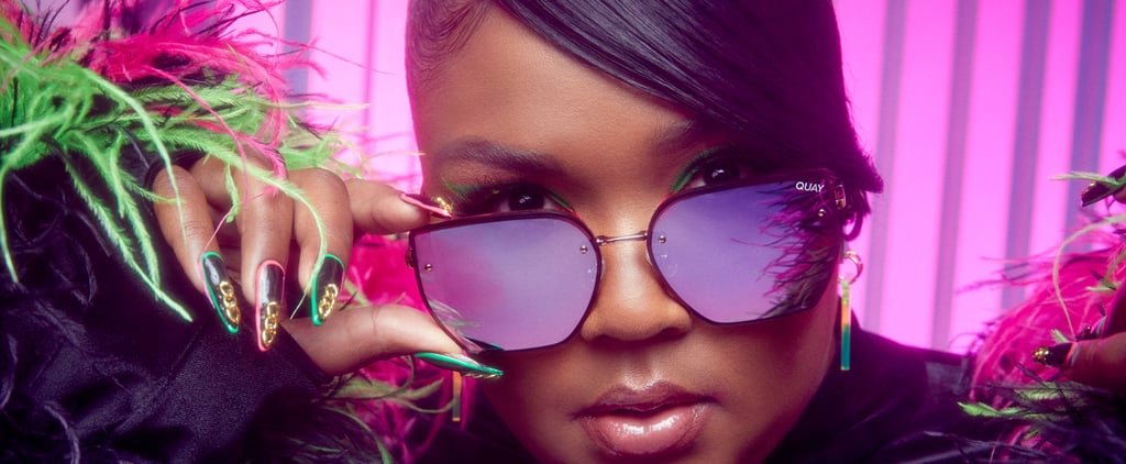 Shop Lizzo x Quay's  Face Mask and Sunglasses Collection