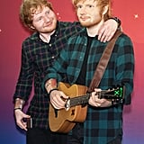 Remember When Ed Sheeran Basically Became Best Friends With His Wax Figure?