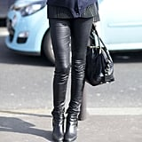 Freeze Your Leather Leggings