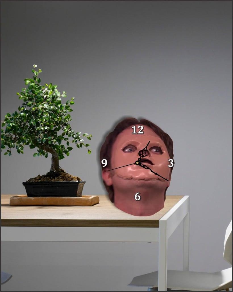 Dwight Schrute Wall Clock