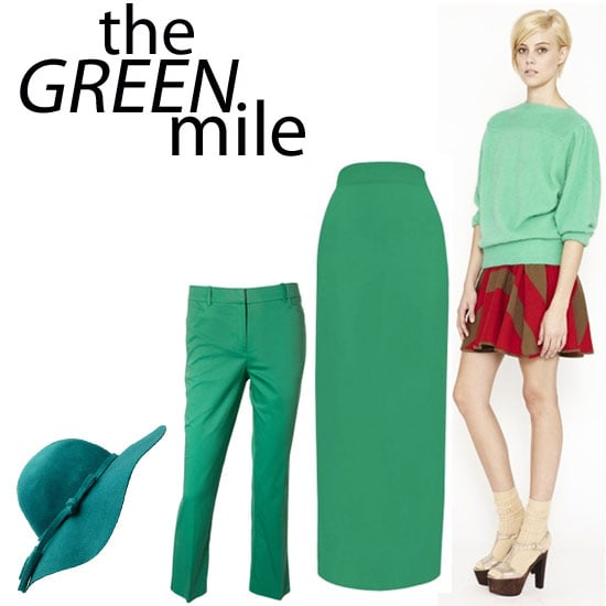 Great, Stylish Green Buys Online In Time for St Patrick's Day! Top picks sass & bide, Sportsgirl, Ginger & Smart & more