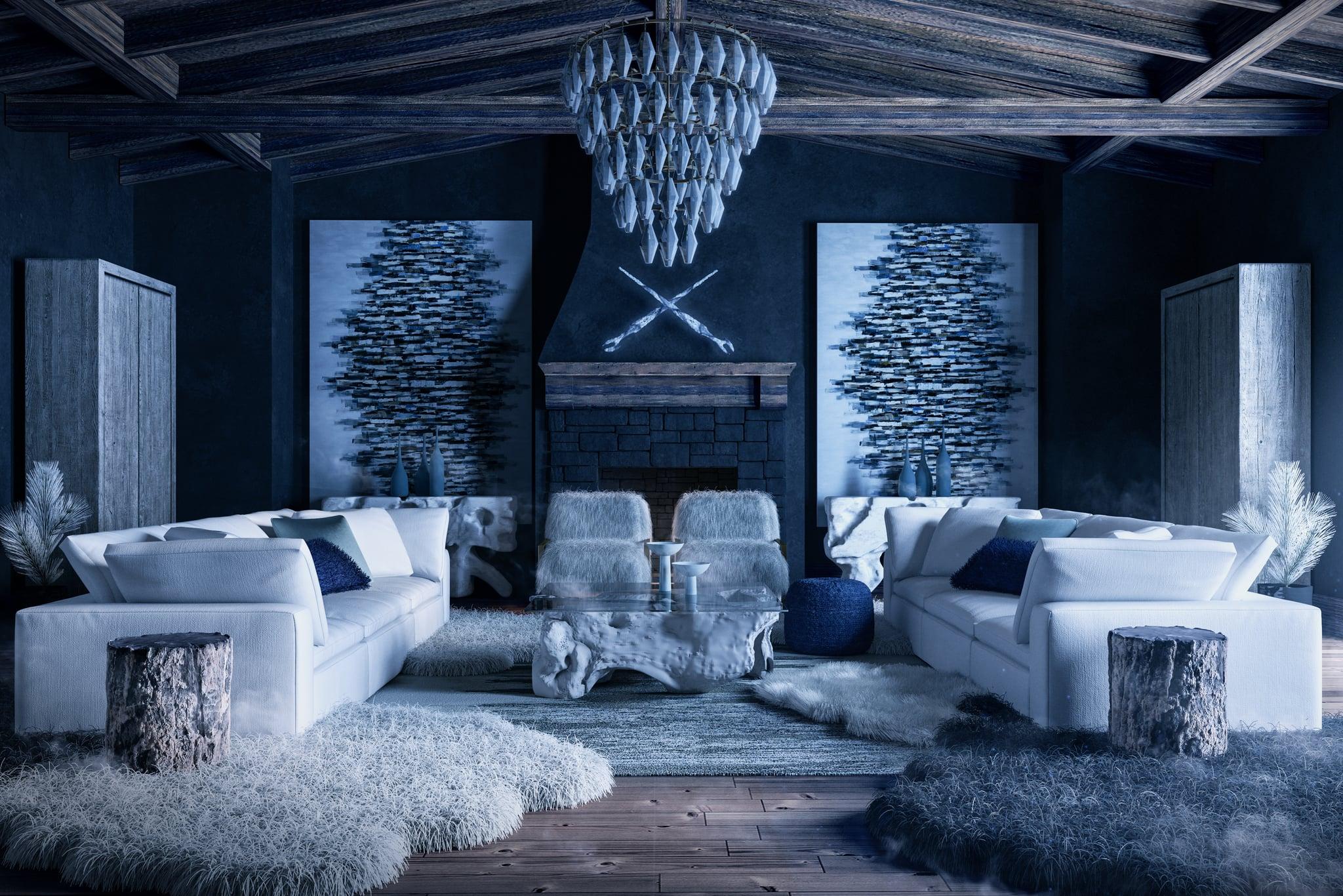 Game Of Thrones Inspired Scandinavian Style Living Room Make