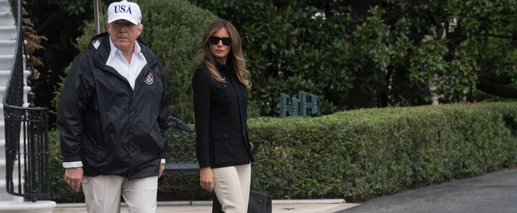 The Bigger Meaning Behind Melania Trump's Decision to Wear These Classic Flats
