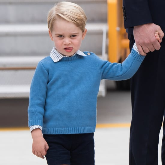 Prince George Is Unimpressed