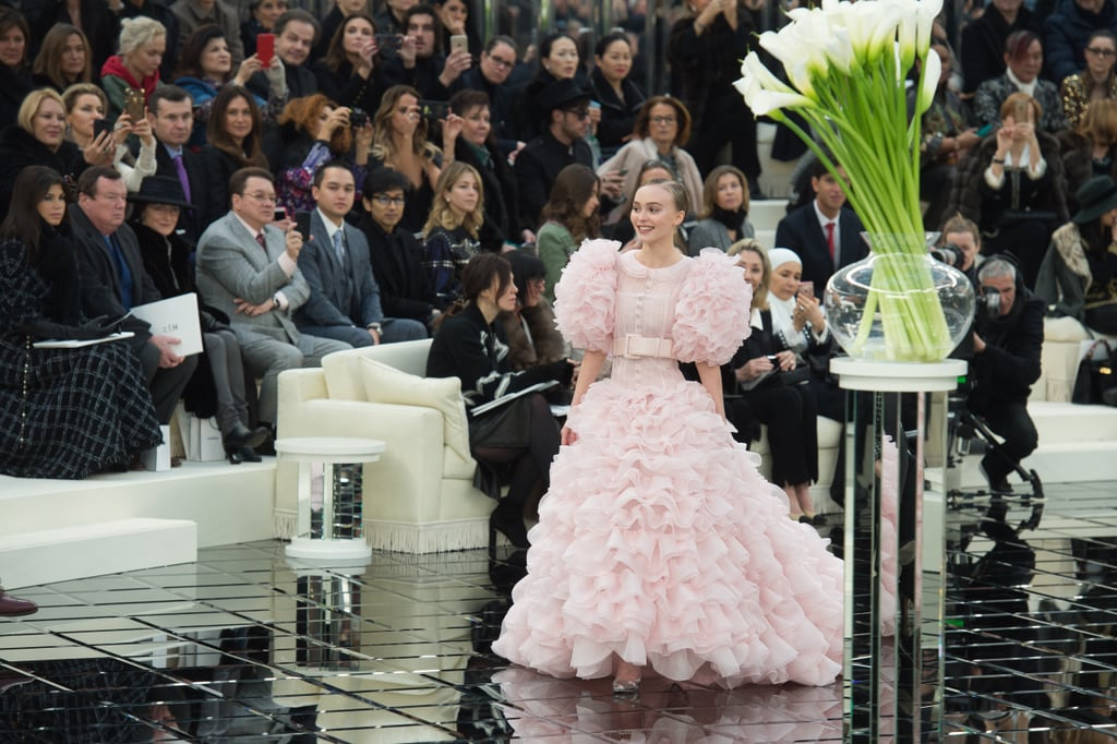 "Fewer things are chicer than Vanessa Paradis and Lily-Rose Depp reminiscing about shared Chanel milestones. The fashionable mother-daughter duo recently joined a selection of fellow ambassadors — including Penélope Cruz and Marion Cotillard — in a roundtable discussion about the brand's latest Haute Couture runway show during Paris Fashion Week. The show's intimate wedding theme inspired a sweet exchange about the time Lily-Rose closed out a 2017 Chanel show in a pink bridal dress, and with her mom in attendance.  ""It was way too much for my heart."" ""Something that is a unanimous thing that I'm hearing around this table is just how you feel when you're wearing these garments — not only how beautiful they look, but how they make you feel when you're wearing them,"" Lily-Rose said. ""I remember I was lucky enough to be the Chanel bride a couple of years ago, which truly as my dream when I was a little girl. This was the ultimate princess that I could ever be."" She added, ""I couldn't believe that I actually got to do it. I was like, are you sure?"" That's when a visibly emotional Vanessa chimed in to say, ""Seeing my baby girl in a show, it was the bride dress — it was way too much for my heart, my emotion."" In a cute coincidence, Chanel released the roundtable video the day after Kate Moss and her daughter Lila Grace Moss-Hack walked in Fendi's show together, marking their first joint runway appearance.  Watch the exchange at around 4:45 in the video ahead, and then scroll through photos of Lily-Rose's bridal moment.      Related:                                                                                                           Demi Moore Opened Kim Jones's Star-Studded, Debut Collection For Fendi Haute Couture"