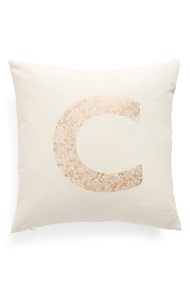 Nordstrom at Home Monogram Pillow ($39)