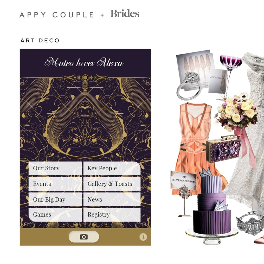 7 New Themes From Appy Couple, an Essential App For the Modern Bride