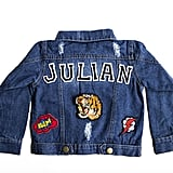 Customizable Denim Patch Jacket