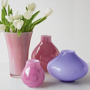 Steal of the Day:  Cased Glass Vases