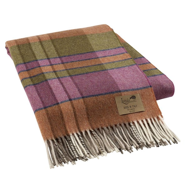With its fringe and warm color palette — just like Prince George's — this lambswool throw ($148) is the perfect way to get the look.