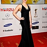 Scarlett looked great at Berlin's Goldene Kamera awards in 2012.