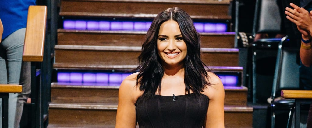 Demi Lovato Reminds Everyone You Don't Need a Thigh Gap to Be Beautiful