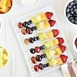 Fruit Kabobs With Yogurt