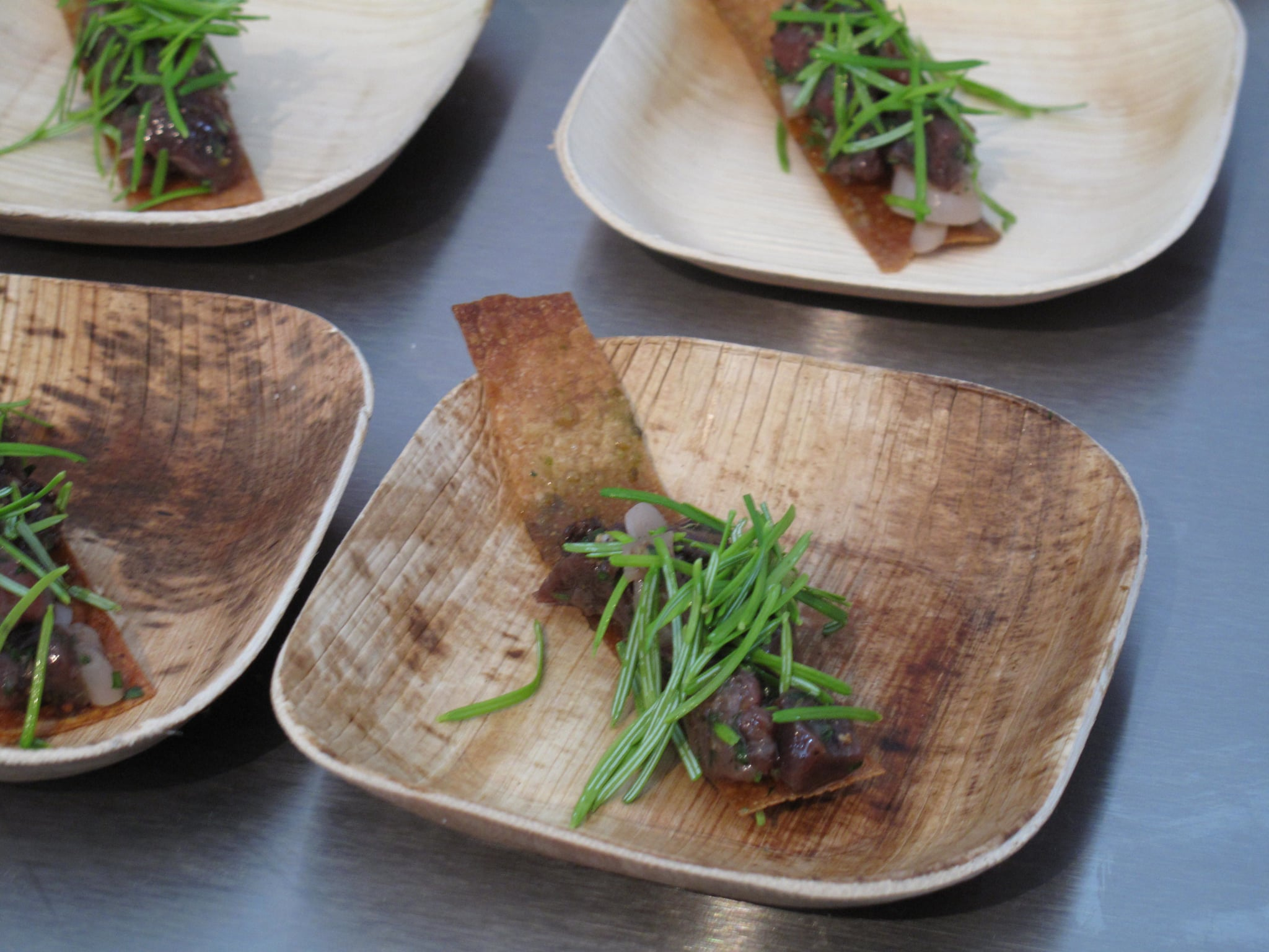 Best New Chef Dish: Venison Tartare With Spruce