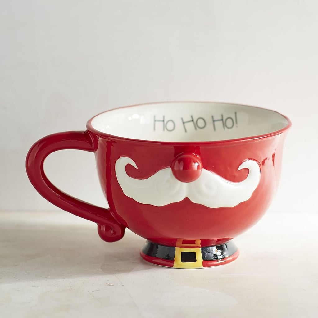 Santa Mustache Latte Mug ($8, originally $10)