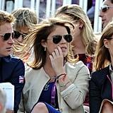 Prince Harry, Princess Eugenie, and Princess Beatrice