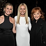 She hooked up with country stars Faith Hill and Reba McEntire at the LA screening of her film Country Strong in December 2010.