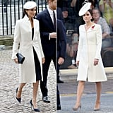 A White Coat in a Sophisticated Cut