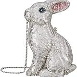 Judith Leiber Crystal Bunny Clutch