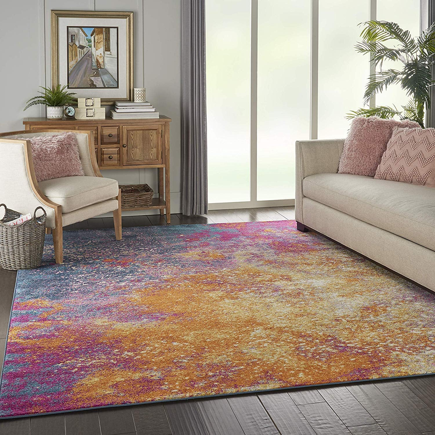 Nourison Passion Modern Abstract Colorful Area Rug 30 Rugs That Only Look Expensive But Cost 250 Or Less Popsugar Home Photo 28
