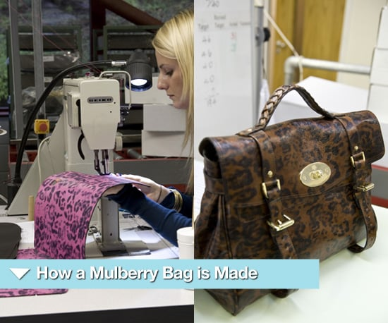Photos of How a Mulberry Alexa is Made at a Factory in Somerset
