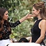 Nina Dobrev had a conversation with Maria Menounos.