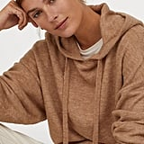 H&M Fine-Knit Hooded Sweater