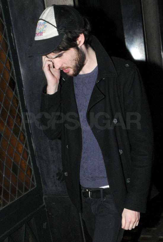 Tom Sturridge talked on his phone during a stroll in London this week. Rumours claim he is comforting Sienna Miller following her split from Jude Law, and the pair were reportedly spotted kissing last week. He was linked romantically with Carey Mulligan last year, but it looks like she's now dating Eddie Redmayne. Tom's profile is continuing to rise, with Waiting For Forever and On the Road wrapped, and a role in The Treehouse coming up alongside Jeremy Irons and Kim Cattrall. This Brit actor is certainly one to watch, so test how well you know him. BigPicturesPhoto.com