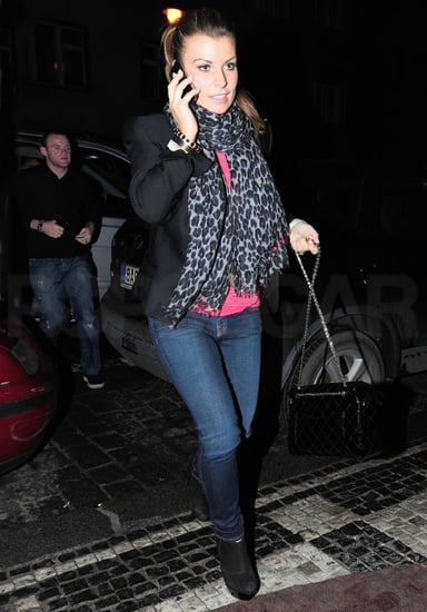 Pictures of Coleen Rooney in Prague with Wayne Rooney After Prostitute Allegations