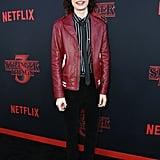 Finn Wolfhard at Stranger Things Season 3 Premiere